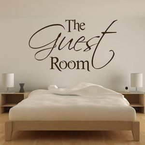 The Guest Room Wall Art Sticker (AS10056)