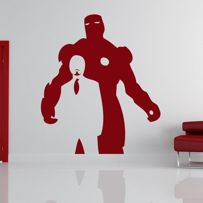 Iron Man Tony Stark Avengers Wall Art Sticker - Apex Stickers