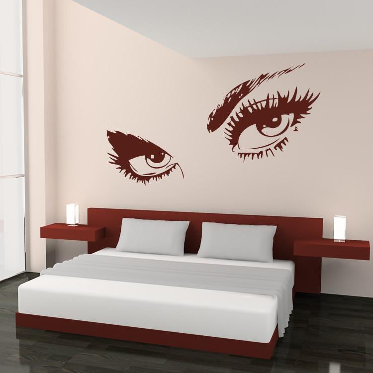 Audrey Hepburn's Eyes Wall Art Sticker - Apex Stickers