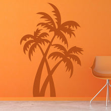 Load image into Gallery viewer, Desert Island Palm Trees Wall Art Sticker - Apex Stickers