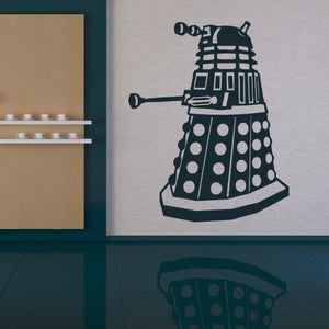 Dr Who Dalek Wall Art Sticker (AS10077) - Apex Stickers