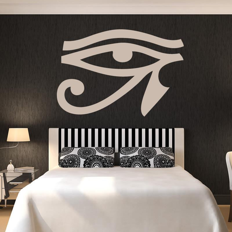 Eye of Horus Egyptian Hieroglyph  Wall Art Sticker - Apex Stickers