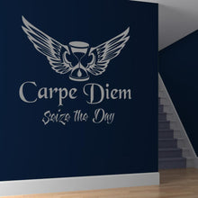 Load image into Gallery viewer, Carpe Diem Seize the Day Wall Art Sticker - Apex Stickers