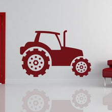Load image into Gallery viewer, Tractor Construction Vehicle Wall Art Sticker - Apex Stickers