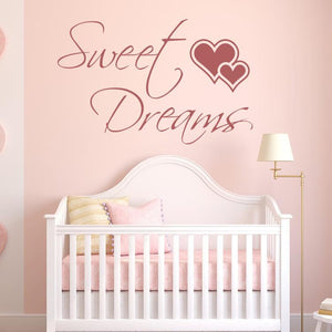 Sweet Dreams Wall Sticker - Apex Stickers