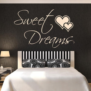 Sweet Dreams Wall Art Sticker (AS10103)