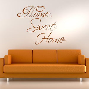 Home Sweet Home Wall Art Sticker - Apex Stickers