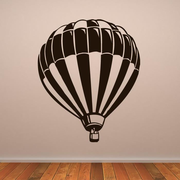 Hot Air Balloon Wall Art Sticker (AS10107) - Apex Stickers