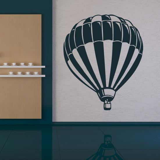 Hot Air Balloon Wall Art Sticker - Apex Stickers