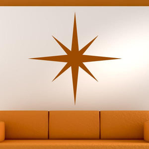 Christmas Snowflake Wall Art Sticker (AS10119) - Apex Stickers