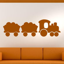 Load image into Gallery viewer, Kids Steam Engine Train Wall Art Sticker - Apex Stickers