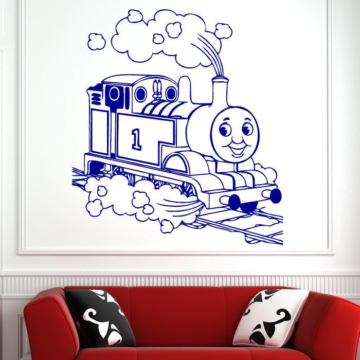 Childs Thomas Tank Engine Train Wall Art Sticker (AS10143) - Apex Stickers