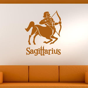 Sagittarius Zodiac Star Sign Horoscope Wall Art Sticker - Apex Stickers