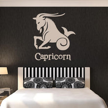 Load image into Gallery viewer, Capricorn Zodiac Star Sign Horoscope Wall Art Sticker - Apex Stickers