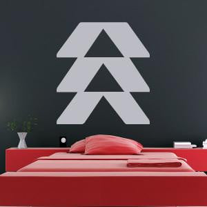 Destiny Game Hunter Insignia Logo Wall Art Sticker - Apex Stickers