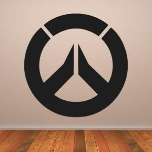 Overwatch Computer Game Logo Wall Art Sticker (AS10230) - Apex Stickers