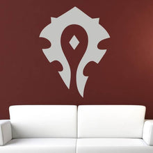 Load image into Gallery viewer, WoW Warcraft Horde Logo Wall Sticker - Apex Stickers