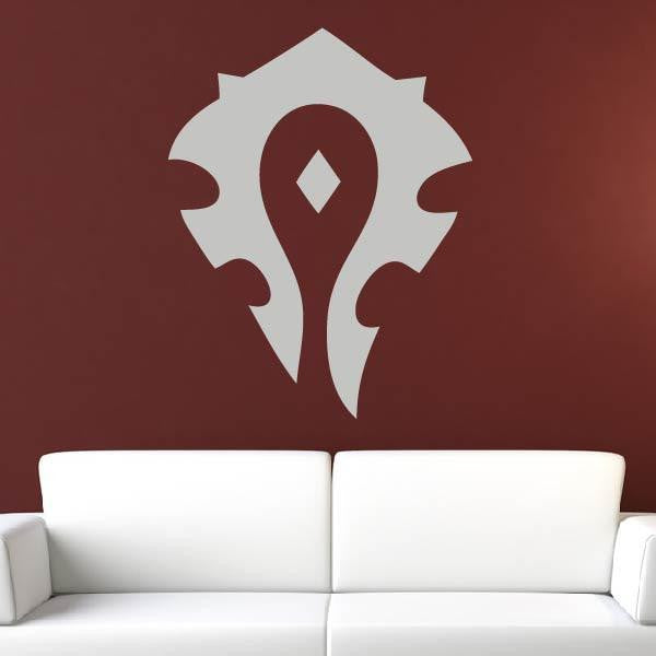 WoW Warcraft Horde Logo Wall Art Sticker (AS10235) - Apex Stickers
