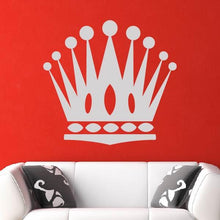 Load image into Gallery viewer, Crown Motif Wall Art Sticker - Apex Stickers