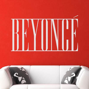 Beyoncé Singer Logo Wall Art Sticker (AS10251) - Apex Stickers
