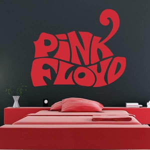 Pink Floyd Band Logo Wall Art Sticker (AS10261) - Apex Stickers