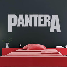Load image into Gallery viewer, Pantera Band Logo Wall Art Sticker - Apex Stickers