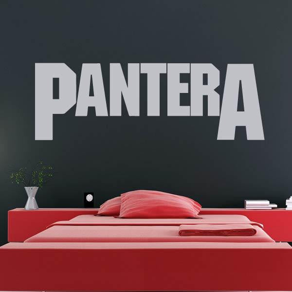 Pantera Band Logo Wall Art Sticker - Apex Stickers