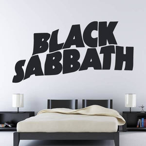 Black Sabbath Band Logo Wall Art Sticker (AS10267) - Apex Stickers
