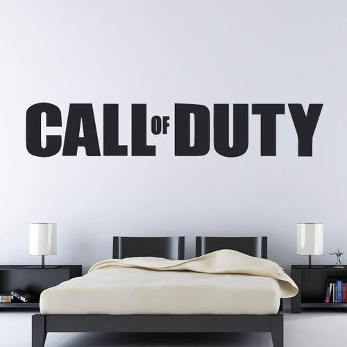 Call of Duty COD Logo Wall Art Sticker - Apex Stickers