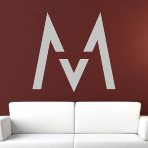 Maroon 5 M Band Logo Wall Art Sticker (AS10271) - Apex Stickers