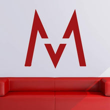 Load image into Gallery viewer, Maroon 5 M Band Logo Wall Art Sticker - Apex Stickers
