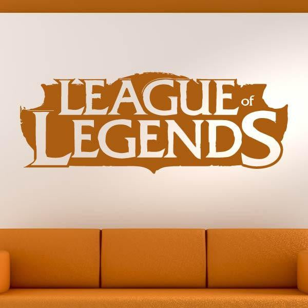 League of Legends LoL Logo Wall Art Sticker - Apex Stickers