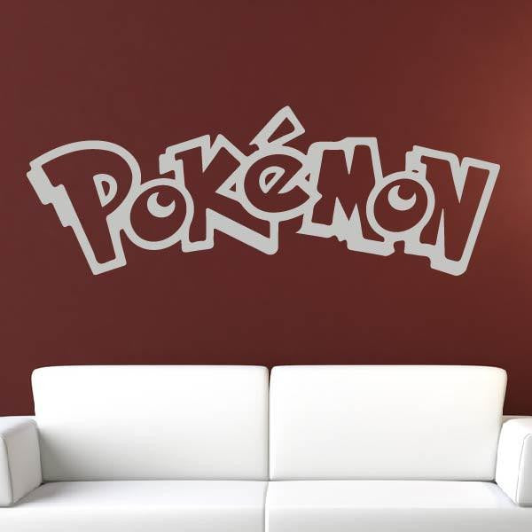 Pokémon Logo Wall Art Sticker - Apex Stickers