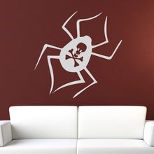 Load image into Gallery viewer, Deadly Spider Wall Art Sticker - Apex Stickers