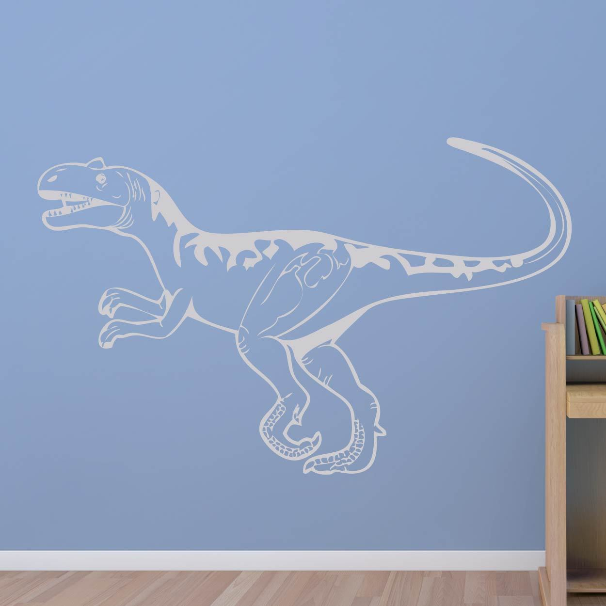 Ceratosaurus Dinosaur Wall Sticker - Apex Stickers