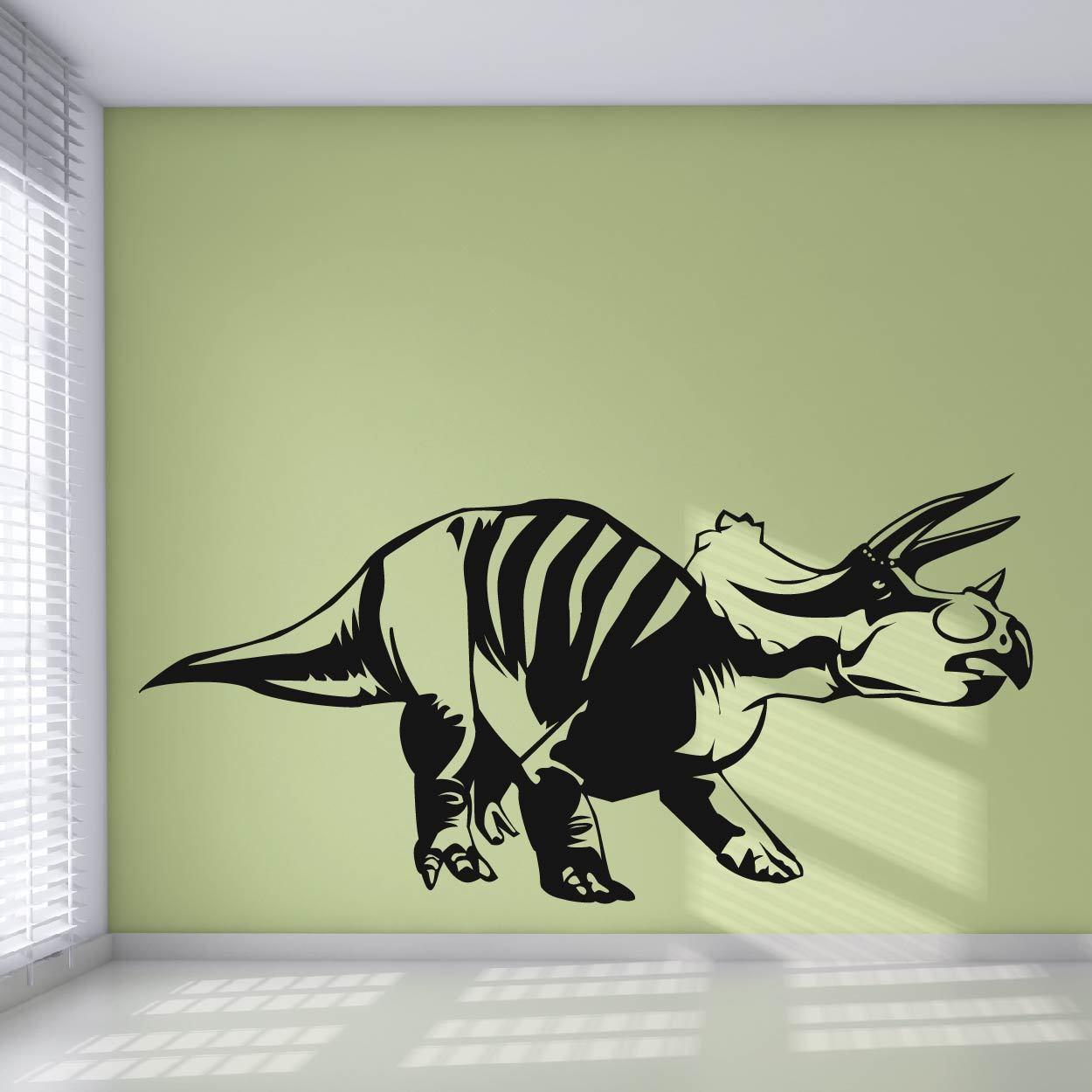 Einiosaurus Dinosaur Wall Sticker - Apex Stickers
