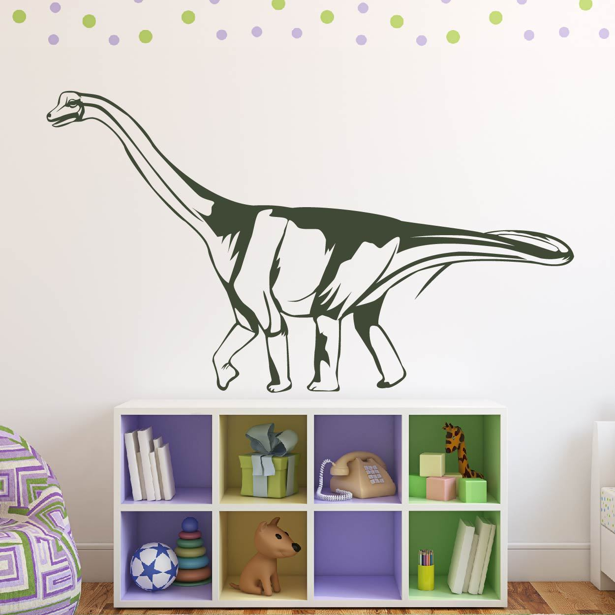 Saltasaurus Dinosaur Wall Sticker - Apex Stickers