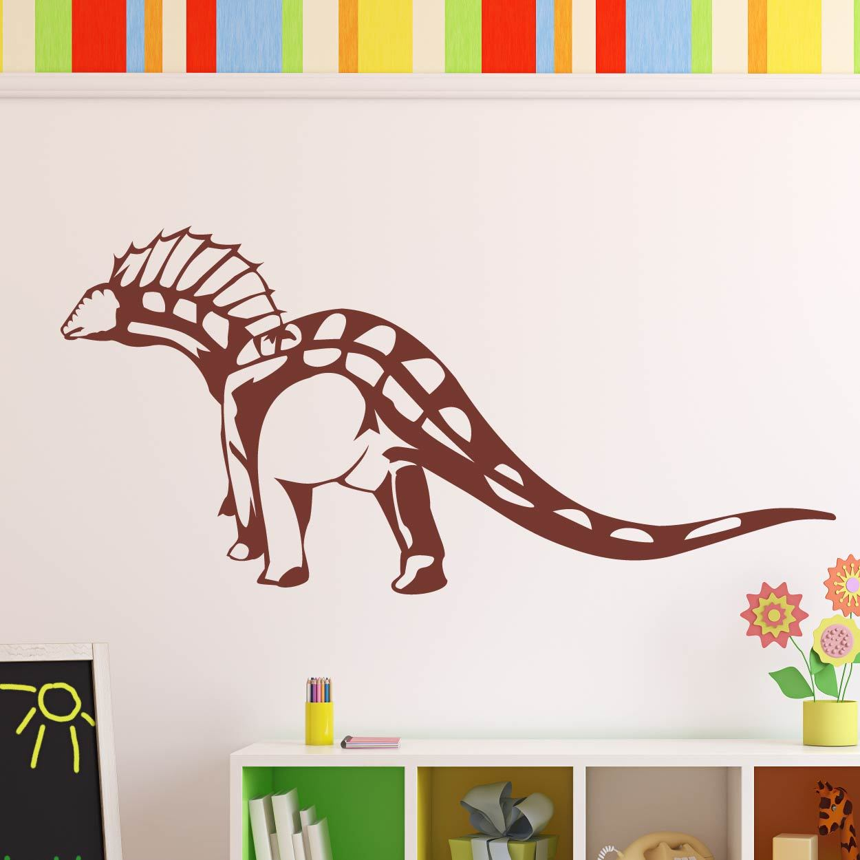 Spinosaurus Dinosaur Wall Art Sticker (AS10340) - Apex Stickers