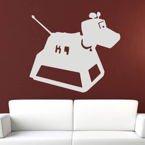 Doctor Who K9 Wall Art Sticker - Apex Stickers