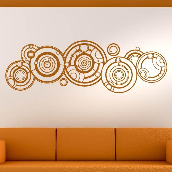 Doctor Who written in Gallifreyan Wall Art Sticker (AS10362) - Apex Stickers