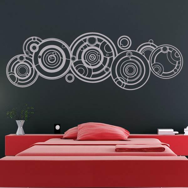 Doctor Who Gallifreyan Wall Art Sticker - Apex Stickers