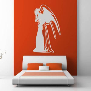 Doctor Who Weeping Angel Wall Art Sticker (AS10370) - Apex Stickers
