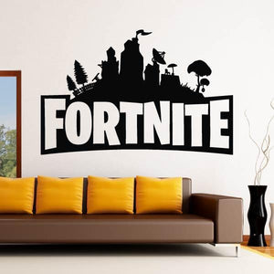 Fortnite Logo Wall Art Sticker (AS10374)