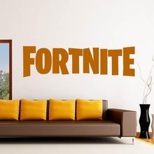 Load image into Gallery viewer, Fortnite Logo Text Wall Art Sticker - Apex Stickers