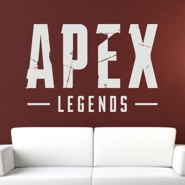 Apex Legends Logo Sticker for Walls