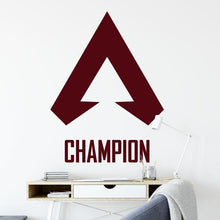 Load image into Gallery viewer, Apex Legends Symbol Champion Wall Sticker - Apex Stickers