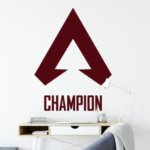 Apex Legends Symbol Champion Wall Sticker - Apex Stickers