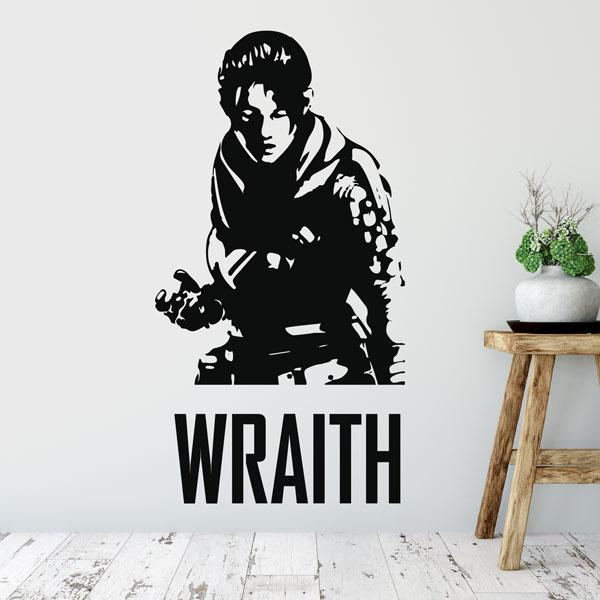 Apex Legends Wraith Wall Art