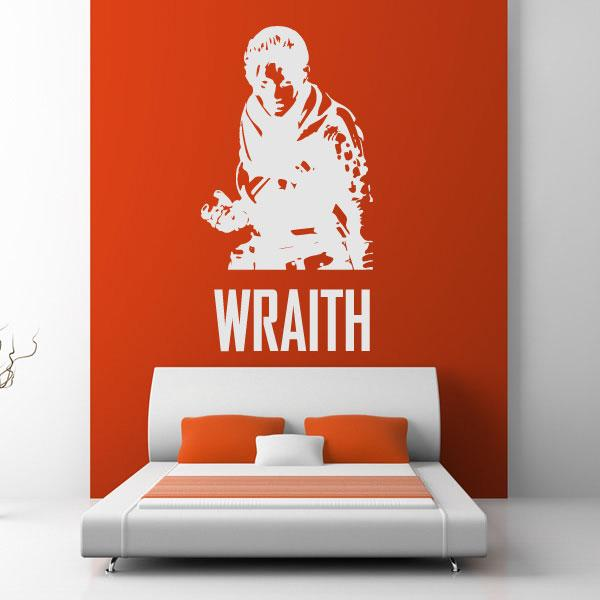 Apex Legends Wraith Wall Sticker - Apex Stickers