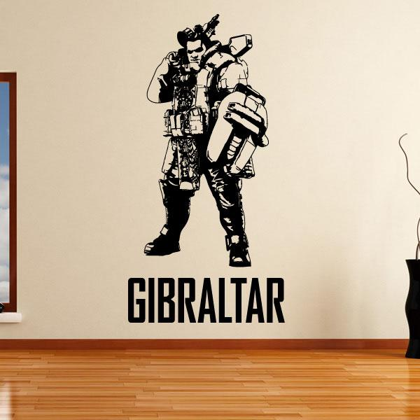 Apex Legends Gibraltar Wall Sticker - Apex Stickers